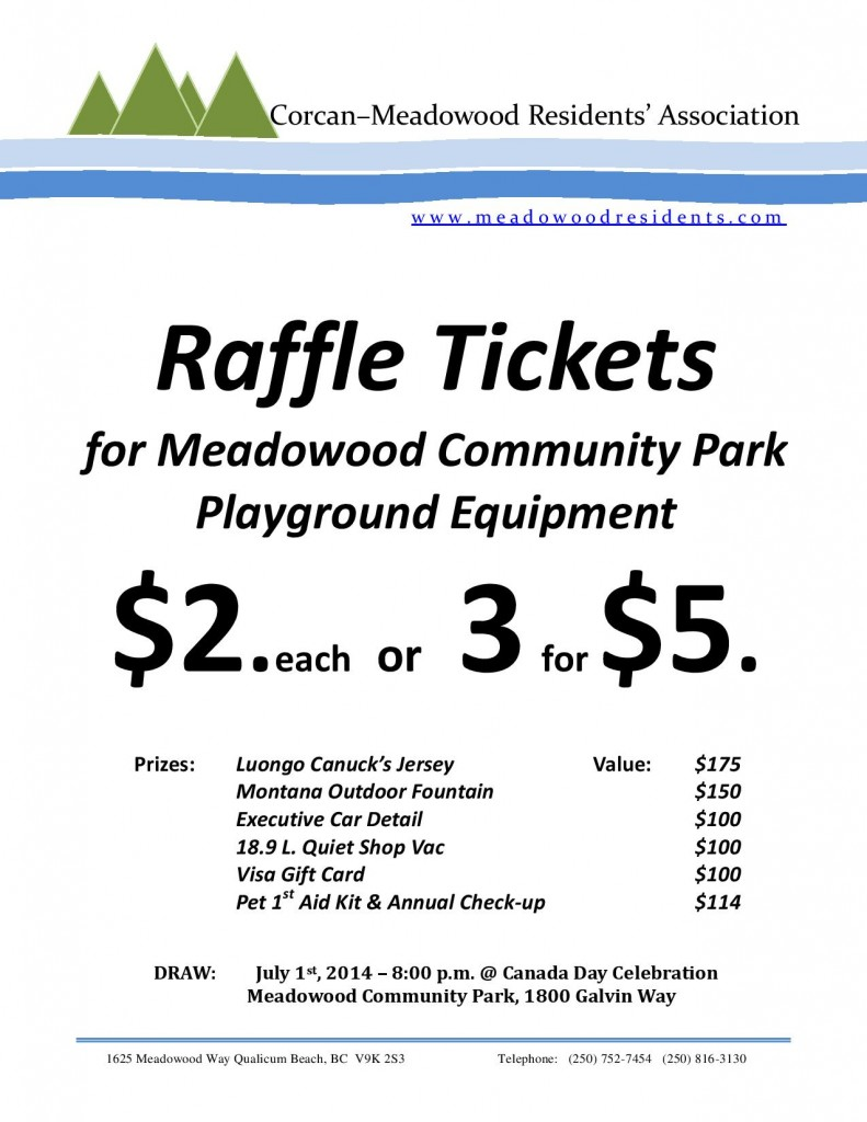 CMRA Raffle Tickets Sign May, 2014-page-001