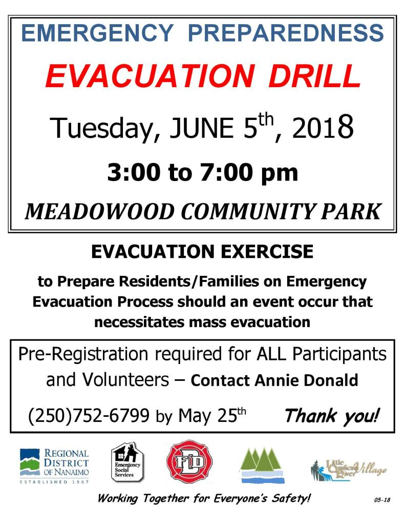 NEPP EVACUATION DRILL Poster for June 5, 2018 REV.05-15-page-001